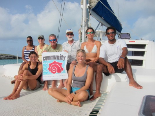 Our 2013 crew (back row, left to right): Erin Cash, Martha Davis, Marc Vandenrydt, Allan Stoner, Montana Steell, Justin Lewis (front row, left to right) Jessica Minns, Catherine Booker