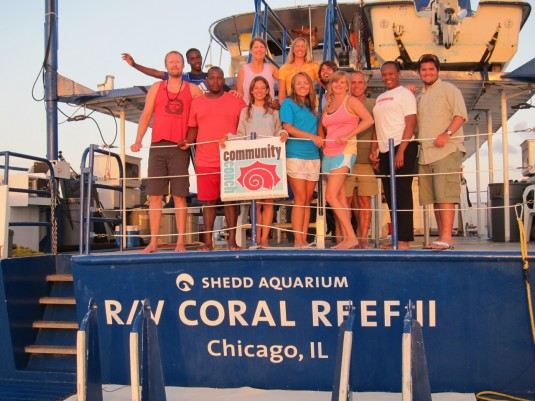 The Coral Reef II volunteer crew!