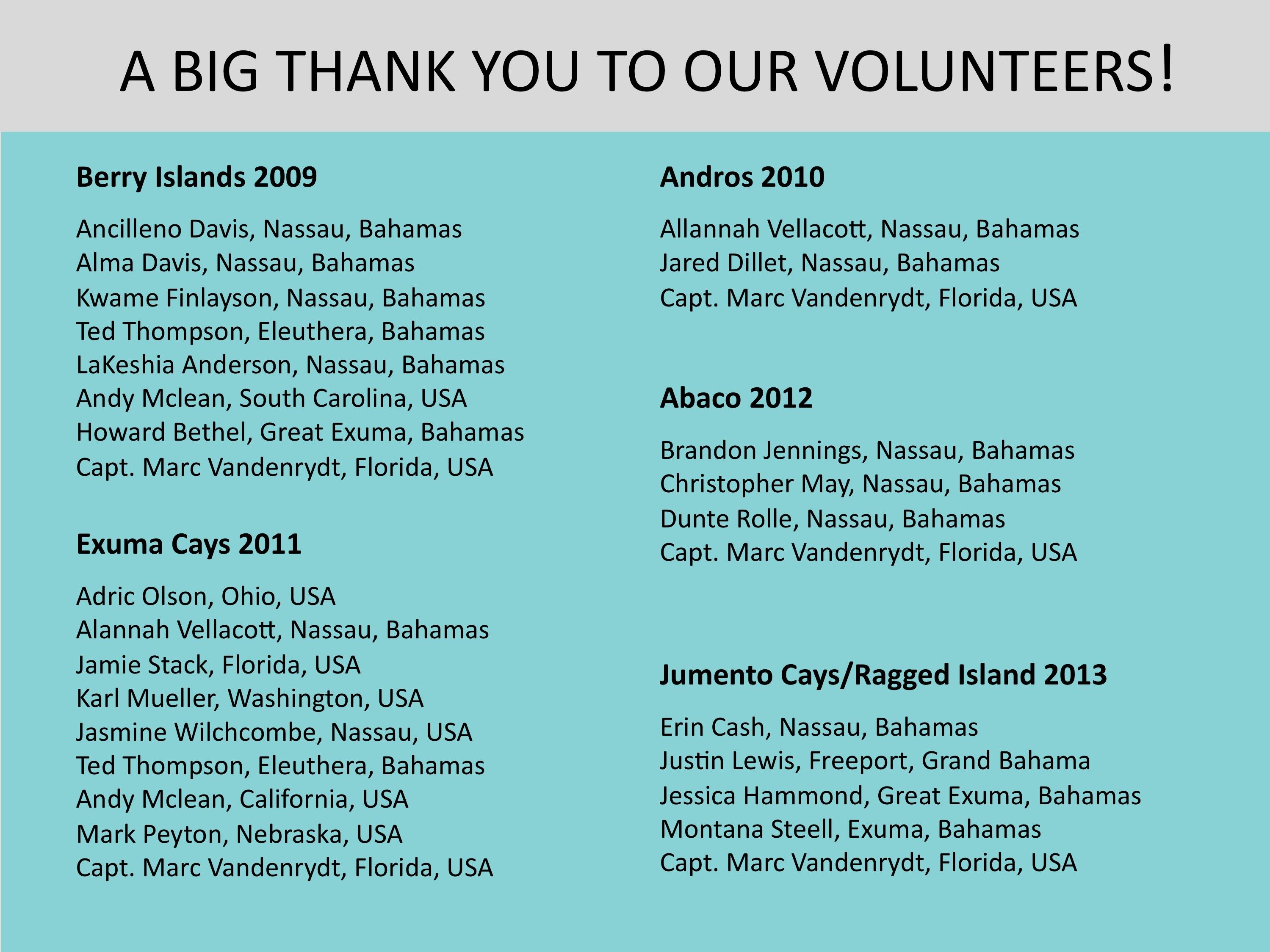 website volunteer thank you